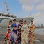 STU48兵頭葵 薮下楓ら5名、広島で4か月遅れの成人奉告祭