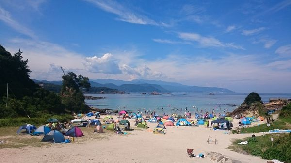 須崎・九十浜海水浴場