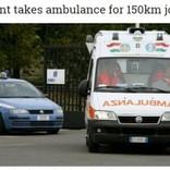 病人いきなり豹変 救急車を乗っ取り高速を150km疾走(伊)