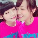 NGT48荻野由佳、元・乃木坂46永島聖羅と密着ショット 双方のファンから「そこ代われ!」