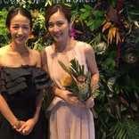 前田有紀さんがイベントに登場! 女子アナ時代よりセクシーなドレス姿