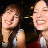 """堀田茜と福田彩乃""""モデルvsものまねタレント""""のレアショットに「笑顔がそっくり」"""