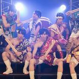 祭nine. 初のホールワンマンライブ!! 7人の太鼓打ちによる群奏で..会場内を圧倒!!