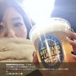 "AKB48OG・田名部生来&野中美郷 日本シリーズ激戦の""ハマスタ""でまさかの遭遇"