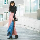 松井愛莉のリアルな私服を取材! 秋の私服MIXコーデを紹介