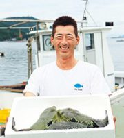 福良漁業協同組合 組合長 前田若男さん