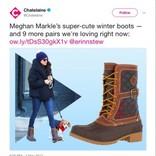 メーガン・マークル、愛用ブーツは120ドル!