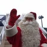 ★クリスマス到来★フィンランドから「トナカイ号」でサンタさんがやってきた♪