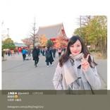 上西恵 NMB48卒業後もSNS人気衰えず