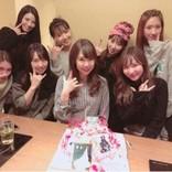 """AKB48""""2期生""""佐藤夏希おめでた&河西智美の誕生日を祝福「最高な仲間との最高な時間」"""