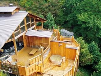 登山電車で行く絶景露天風呂の宿 常盤館