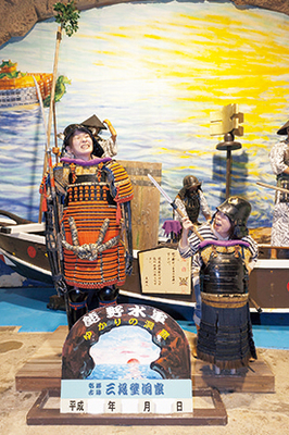 熊野水軍に関わる展示