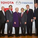 トヨタとマツダが米アラバマ州・ハンツビル市に合弁新工場を建設すると発表