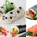 パンダに本マグロ!?進化がすごい恵方巻き120種が上野に大集合!