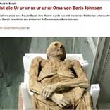 教会から発見されたミイラ、英外務大臣の先祖だった(スイス)