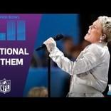 P!NK、素晴らしい国歌斉唱パフォーマンスを披露 体調不良を感じさせず