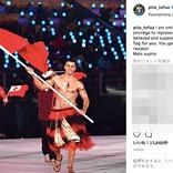 【平昌オリンピック】ムキムキ上半身裸で話題のトンガ選手「実は寒かった」「あたたかさは内側からやって来るもの」と海外メディアに語る