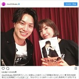 仲里依紗、劇団EXILE・鈴木伸之と『あなそれ』夫婦再会ショット