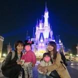 井上和香、安めぐみも娘を連れてTDR35周年プレビューナイトへ「私の心はまだ夢の国」
