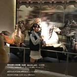 """欅坂46キャプテン菅井友香""""シンクロ坂""""投稿に反響「お嬢様、今日も可愛い」"""