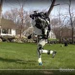 【ほぼ人間】2足歩行ロボット『アトラス』さん、今度は軽やかにジョギングをする