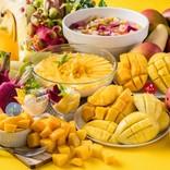 スイパラで「マンゴー食べ放題』開催! ケーキやアイスにトッピングし放題♪