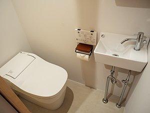 トイレももちろん完備