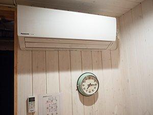 エアコンも装備されている