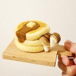 「癒される」「欲しい」の声が続々! リスが挟まったパンケーキ、実は