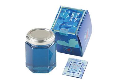 青い森の天然青色りんごジャム