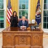 キム・カーダシアン、ホワイトハウスでトランプ大統領と対談