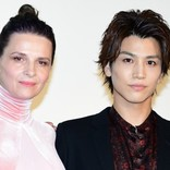 岩田剛典、大女優ビノシュは「フランスのお母さん」『Vision』舞台挨拶