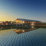 田園風景と調和したホテル 山形県鶴岡市のサイエンスパーク内にオープン