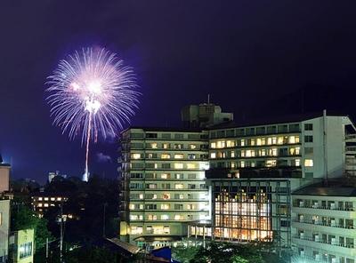 鬼怒川温泉 夏の花火