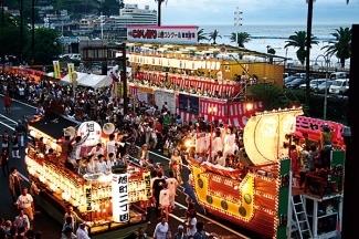 熱海こがし祭り第50回山車コンクール