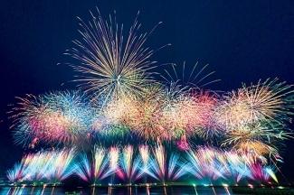 土肥サマーフェスティバル海上花火大会2018