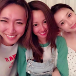 「すっぴんでこの美しさ」沢尻エリカ、伊藤ゆみ、ゆしんの3ショット公開