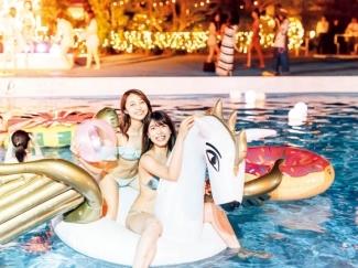 東京プリンスホテル CanCam × Tokyo Prince Hotel Night Pool