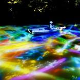 大庭園がデジタルアート空間に、『チームラボ かみさまがすまう森』 開催
