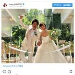 吉木りさ&和田正人の結婚披露宴 参列者に「豪華すぎ」とファンため息