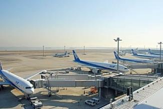 羽田空港 国内線 第2旅客ターミナル 展望デッキ
