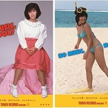 柏原芳恵、タワレコ「NO MUSIC, NO IDOL?」ポスターに初登場