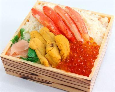 札幌かに工房「得々味くらべ弁当」
