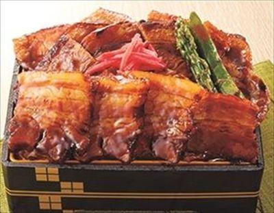 「こうふく特製豚丼」 1,680円 京王百貨店限定・実演