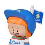 ズームイン朝!プロ野球いれコミ情報の人形【イレコミ君】ライオンズ版が復活