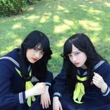 橋本環奈&若月佑美のヤンキー座り「若様半端ないって」