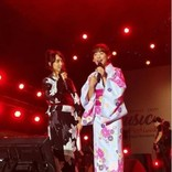 仲川遥香&JKT48アヤナ、インドネシアの音楽祭で着物姿披露