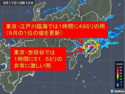 雨雲レーダー 横浜市港北区