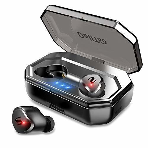 【Bluetooth 5.0進化版】 Bluetooth イヤホン 90時間連続駆動 IPX6防水 タッチ型 自動ペアリング 完全 ワイヤレス イヤホン 高音質 軽量 Siri対応 ブルートゥース イヤホン 両耳 左右分離型 マイク内蔵 日本語音声提示 技適認証済 iPhone Android 対応