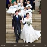 英ユージェニー王女が豪華挙式! デミ・ムーア、リヴ・タイラーなどセレブも出席